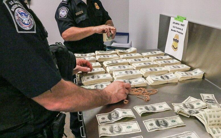 CBP officer at POE Atlnat investigate counterfeit US Currency