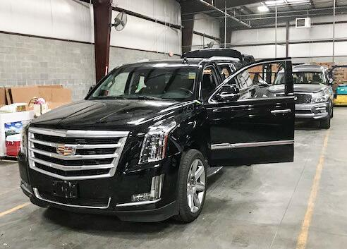 CBP Norfolk recovered 2017 Cadillac