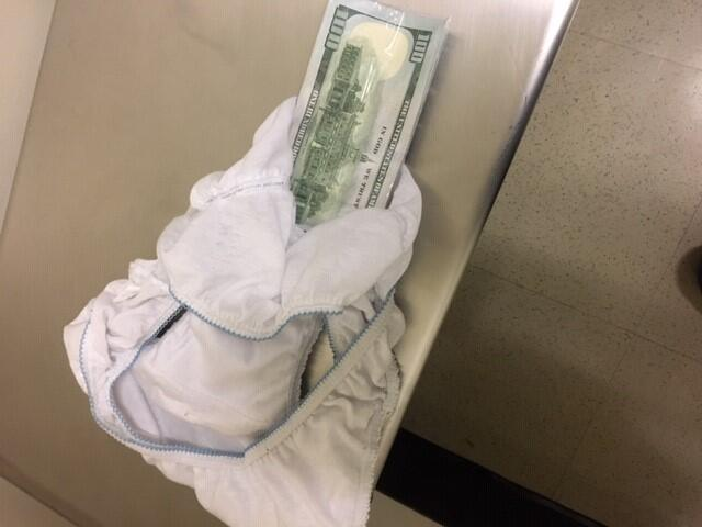 CBP Officers Discovered $4900 Sewn Into Traveler's Underwear