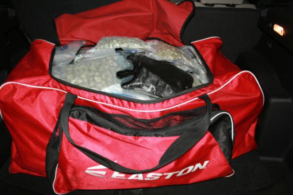 Approximately 33 pounds of marijuana seized by Border Patrol
