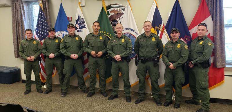 Members of Houlton Sector's Mobile Response Team