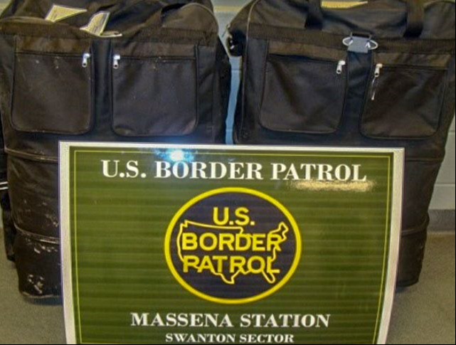 More than $100,000 worth of marijuana seized by Border Patrol in upstate New York