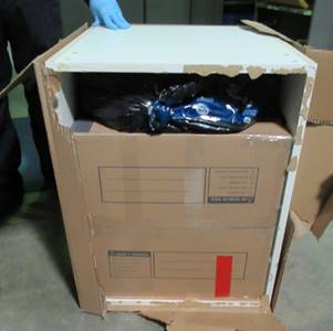 CBP officers in Vermont seize more than 1400 pounds of marijuana