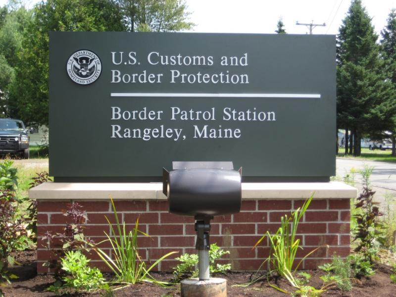 Rangeley Border Patrol Station in Rangeley Maine.
