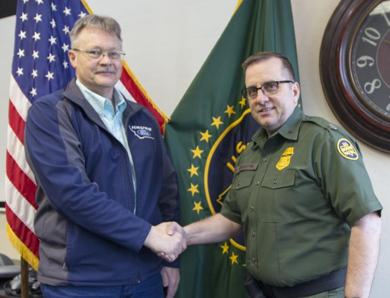 Former Hill County, Montana Sheriff is sworn in as a LECA.