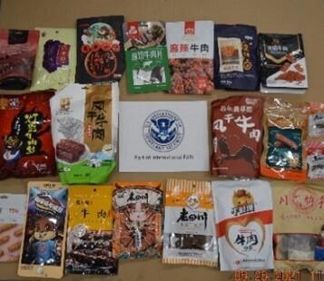 Smuggled food