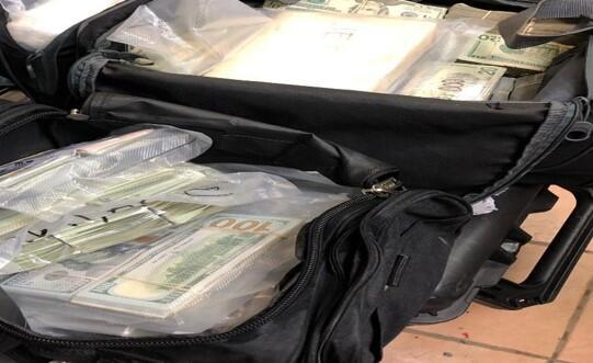 One million dollars seized