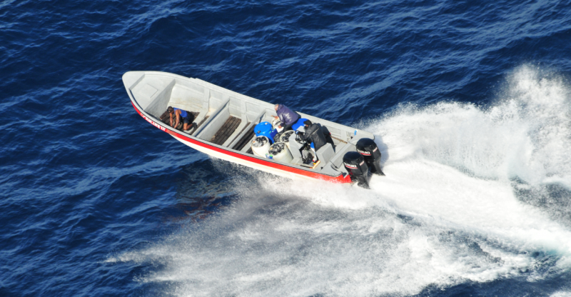 CBP's Air and Marine Operations detect suspected traffickers
