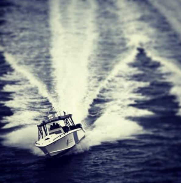CBP's Air and Marine Operations monitoring Florida's coastline.