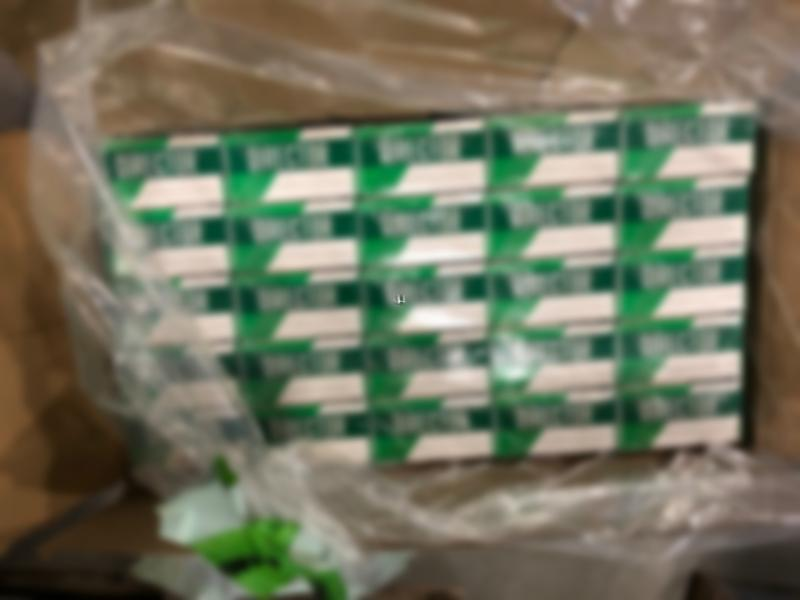 Counterfeit cigarettes seized by CBP and federal partners in Miami.