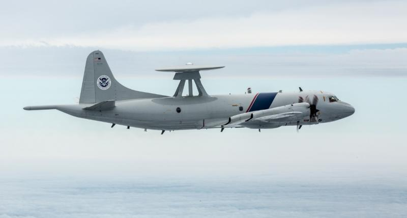 CBP Air and Marine Operations P-3 patrol aircraft