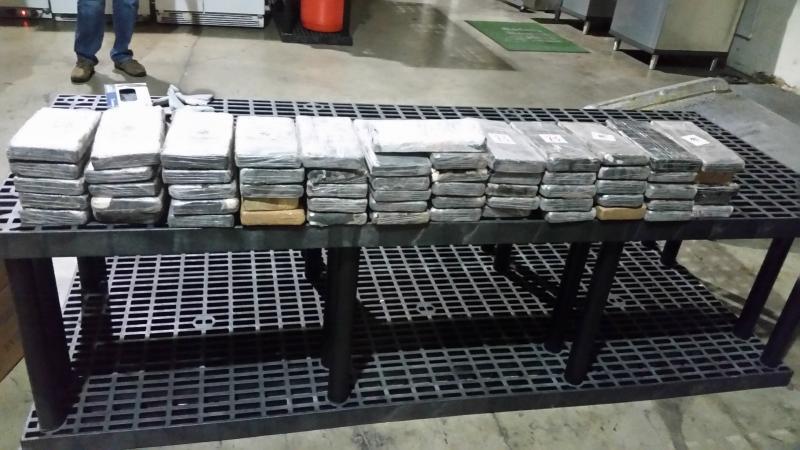 Cocaine seized in Florida from trafficking hub Ecuador