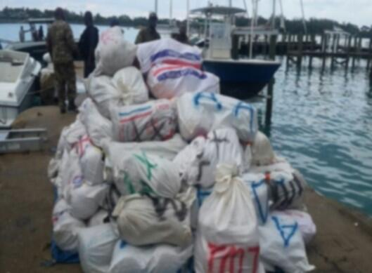 Marijuana seized in the Bahamas
