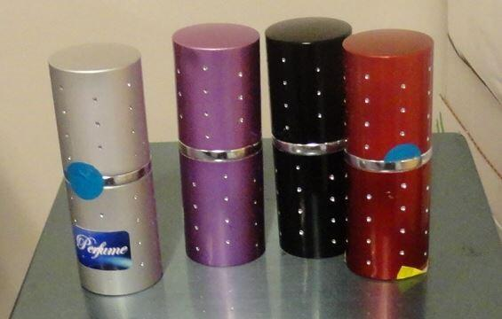 Spray canisters seized at Miami International Airport. Photo courtesy of CBP