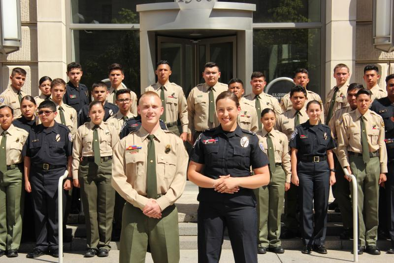 US Border Patrol Explorer of the Year, 2019 and Learning for Life, National Youth Representative (from OFO), 2018-2020