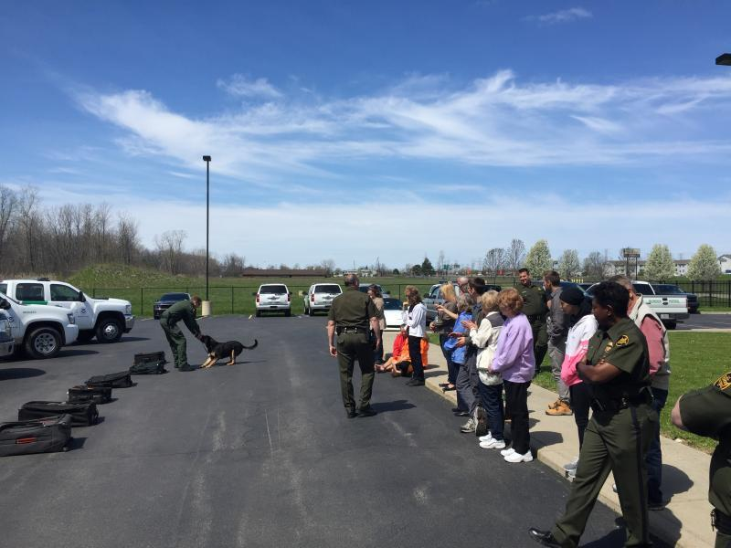 U.S. Border Patrol conducts Citizens Academy for Buffalo area residents