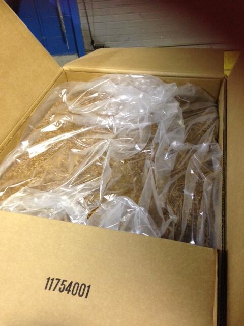 loose leaf tobacco seized by CBP Officers at Lewiston POE