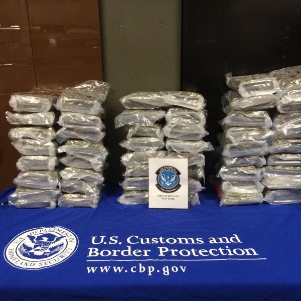 Marijuana hidden in foosball table found by CBP officers