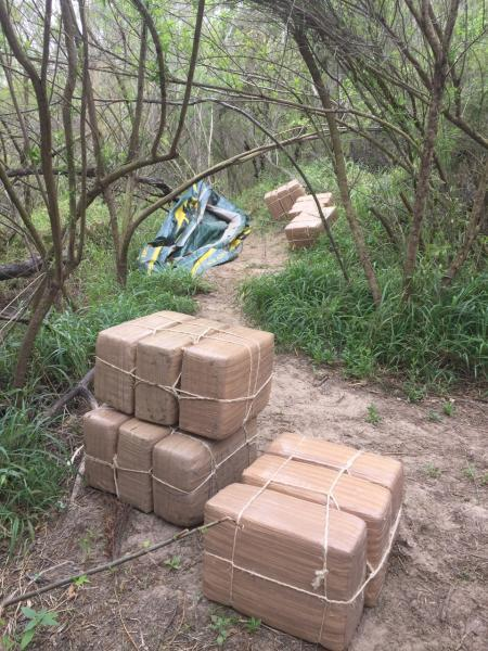 Marijuana bundles seized by Rio Grande Valley agents
