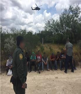 Border Patrol and Air and Marine Operations stop eight smuggling attempts netting 55 arrests