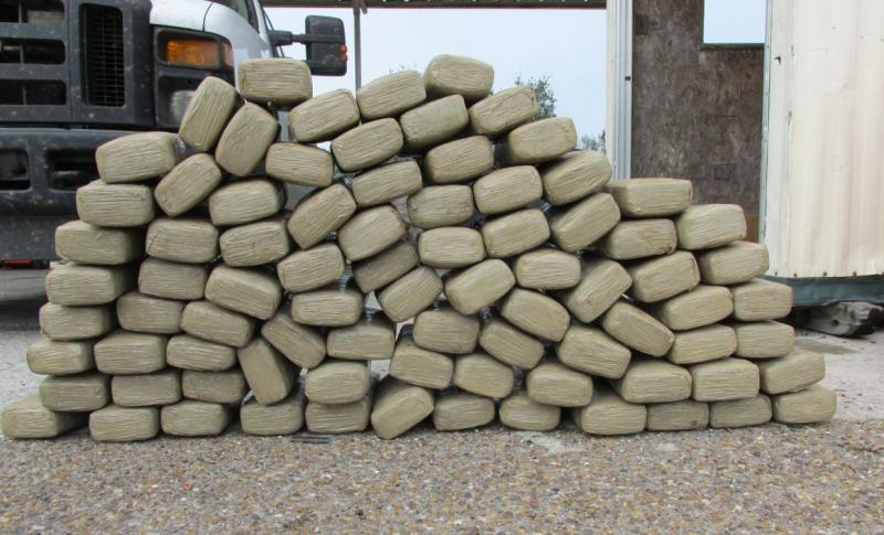 Over 1,700 pounds of marijuana seized by Border Patrol agents