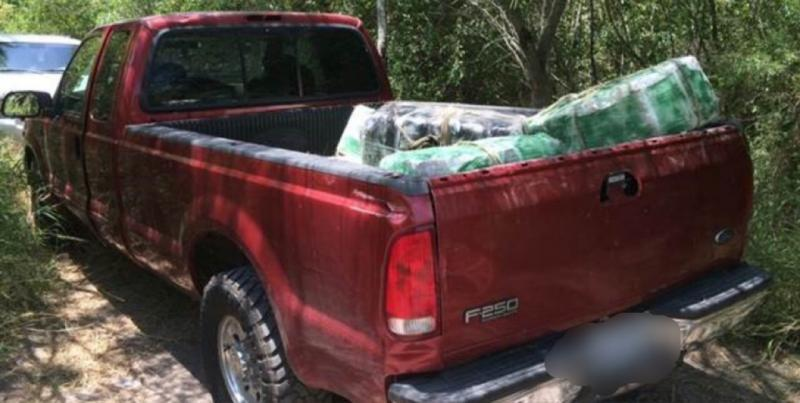 F-250 loded with marijuana seized by Brownsville agents