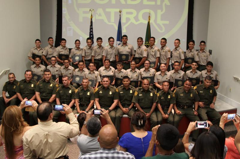 28 Border Patrol Explorers graduated in Laredo, Texas on June 22nd.