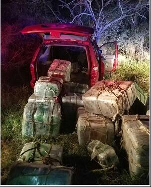 Over 1300 pounds of marijuana seized by Harlingen agents
