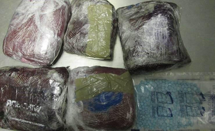 Agents seize heroin and ecstasy pills at Sarita checkpoint
