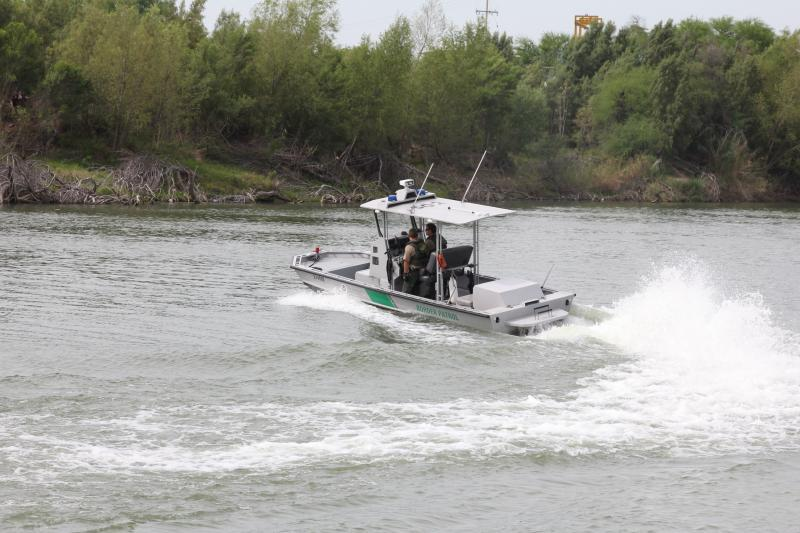 US Border Patrol Riverine Unit