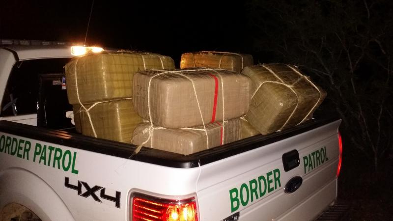 Rio Grande Valley Sector marijuana seizure