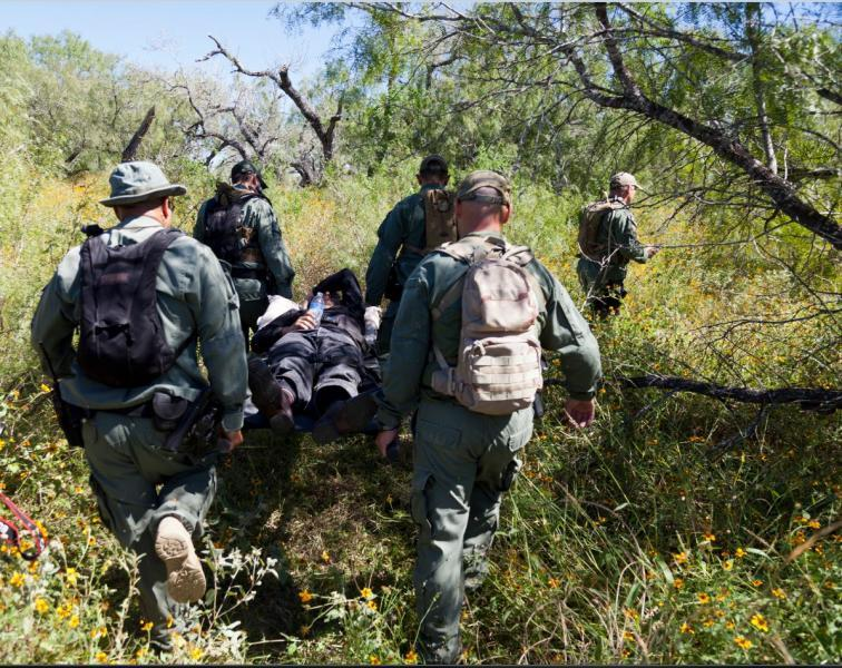 Border Patrol Agents Rescue Injured Man in Remote Area