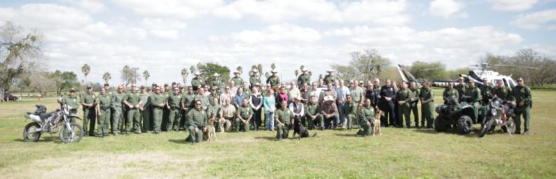 RGV Stakeholders attendees at Anzalduas Park