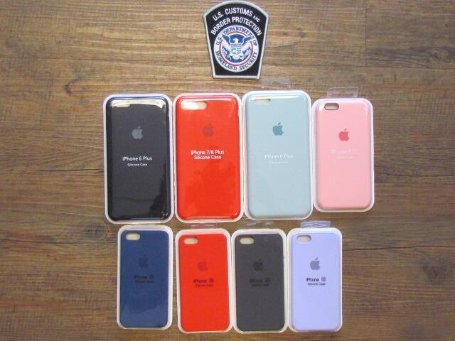 On November 9, 2020, CBP Officers in Minneapolis seized a shipment containing more than $41,000 worth of counterfeit Apple and Samsung accessories.